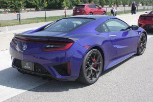 2019 Acura NSX rear view