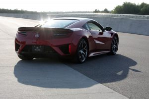 2019 Acura NSX red