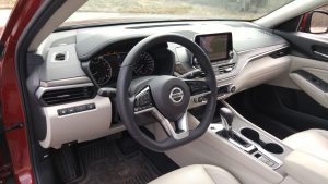 2019 Nissan Altima dashboard