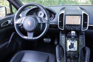 Porsche Cayenne Diesel driver's seat