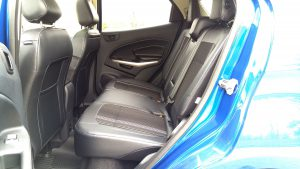 2019 Ford Ecosport back seat