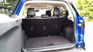 2019 Ford Ecosport trunk