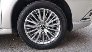 2019 Mitusbishi Outlander PHEV hybrid wheel