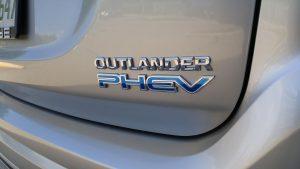 2019 Mitusbishi Outlander PHEV logo