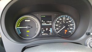 2019 Mitusbishi Outlander PHEV hybrid odometer