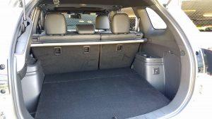 2019 Mitusbishi Outlander PHEV rear folding space