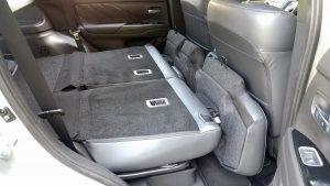 2019 Mitusbishi Outlander PHEV second row folding seats