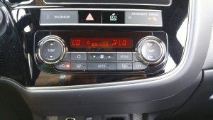 2019 Mitusbishi Outlander PHEV temperature-control
