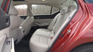 2019 Nissan Altima rear seat