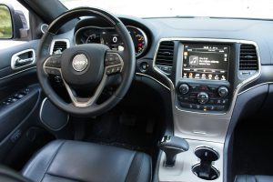 Jeep Grand Cherokee EcoDiesel driver's seat