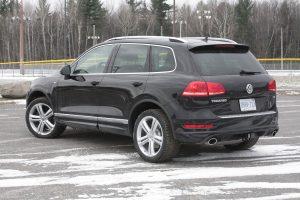 Volkswagen Touareg TDI rear view